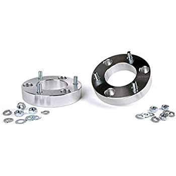 LHE LK-601-N-RD 2 Front Leveling Lift Kit Strut Spacers for 2004-2018 Nissan Titan and Armada 2WD /& 4WD