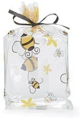 NEW 25 A Little Honey Bee Bees Cello Cellophane Bags Includes Twist Ties