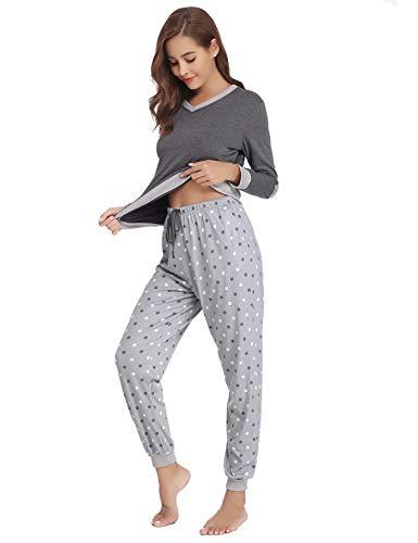 Set Algod Aiboria Mujer Mujer Set Pijamas Pijamas Aiboria qSx0pE