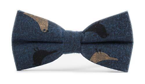 Men's Big Boys Navy Blue Pre Bow Tie Layers Classic Formal Groomsmen Adjustable Length Bowties