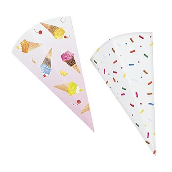 Ice Cream Cone Wrappers Tableware