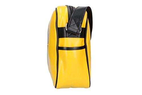Tracolla uomo donna messanger GOLA borsello giallo VF294