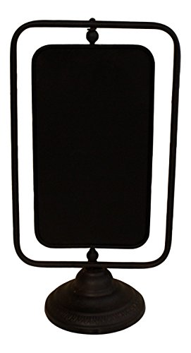 (Free standing Chalkboard, rotating, French Vintage Design)