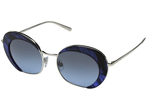 Giorgio Armani Womens Sunglasses Silver/Blue Metal - Non-Polarized - - Sunglasses Armani Blue
