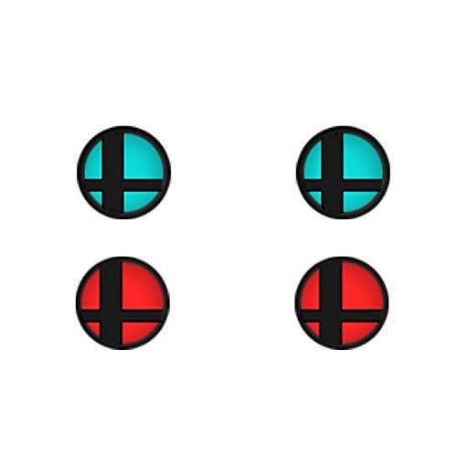 Silicone Thumb Stick Caps Grip Gamepad Analog Joystick for Nintendo Switch NS Controller Joy-Con 4pcs