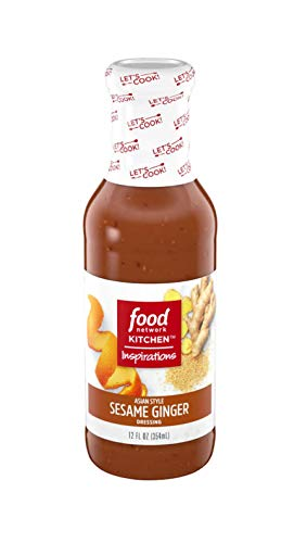 Food Network Asian Style Sesame Ginger Dressing (12 oz Bottle)