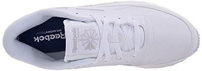 Reebok Women's Classic Renaissance Sneaker, White/Steel, 9 D US