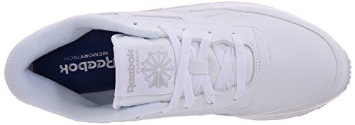 Reebok Damen Klassischer Renaissance Sneaker Us-weiß / Stahl