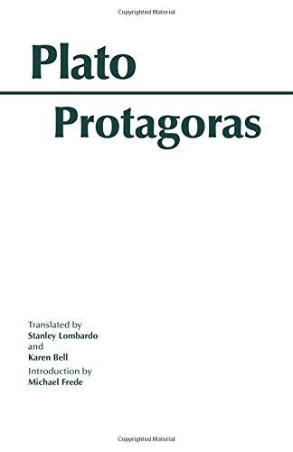 Protagoras (Hackett Classics)
