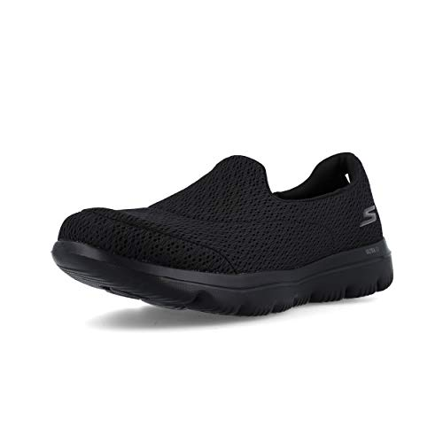 Skechers Evolution Ultra Persist Walk Black Sportivi Go Viola Donna Mocassini SrqUOwSx
