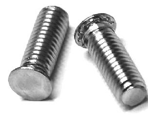 6-32 x 3/4'' BRONZE BROACHING STUD E/T (QTY 100) by CAPTIVE FASTENERS