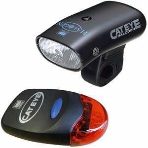 CatEye HL-500BS + TL-LD260BS - Luz para Bicicleta: Amazon.es: Deportes y aire libre