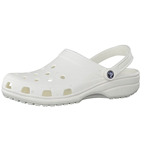 Crocs Classic Clog White Men's 9 Women's 11 by Crocs
