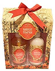 Michel Pumpkin Scented Fall Season Gift Set Soap and Lotion (Harvest Pumpkin)