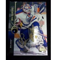 Powers Collectibles Signed Ranford, Bill (Edmonton Oilers) 1994 Upper Deck Hockey Card autographed