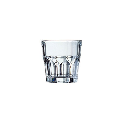 Arcoroc J2610 Granite 5.25 Oz. Rocks Glass - 48 / CS by ARC Cardinal