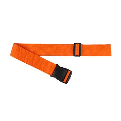 trietree荷物ストラップ調節可能な伸縮ベルト配筋スーツケースベルトストラップ旅行アクセサリー M Q516V2A9OQBF3081IFLPWO B076Y4SL9L ダークオレンジ ダークオレンジ