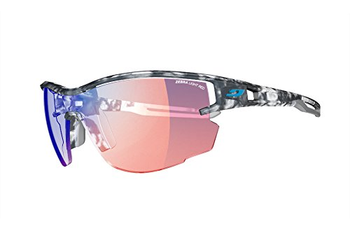 Julbo Aero Sunglasses, Zebra Light - Tort. Gray/Gray, One Size
