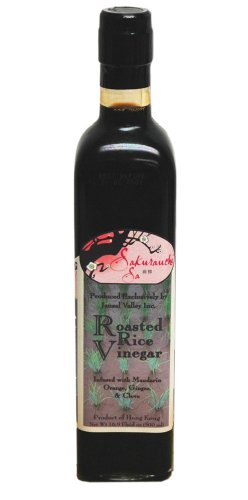 Sakurauchi Sa Roasted Rice Vinegar, 16.9 Ounce (Orange Ginger Vinaigrette Salad Dressing)