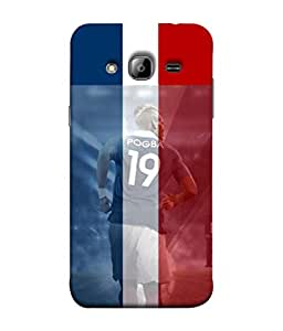 colorking Football Pogba France 02 Multi Color shell case cover for Samsung On7