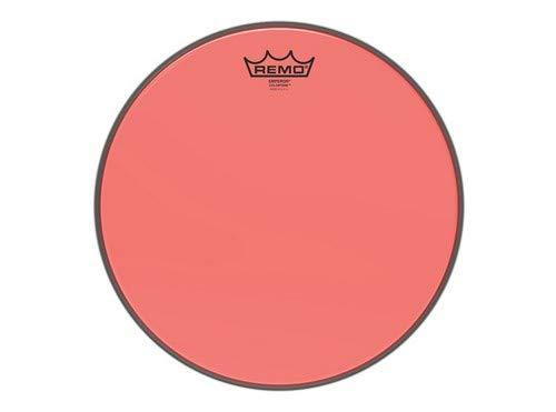 Remo Emperor Colortone Red Drumhead, 13