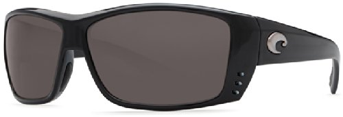 Costa Del Mar Cat Cay Sunglasses, Black, Gray 580Plastic - Costa Shades Mar Del