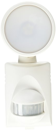 Heath Zenith HZ-5990-WH-A 200 lm Battery Powered LED Motion Light, White -