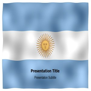 lag Powerpoint Templates - Argentina Animated Flag PPT Backgrounds and Slides ()