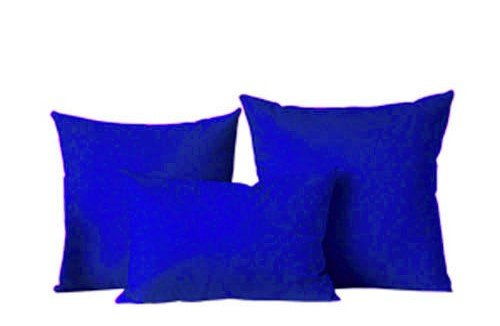 The Pecan Man Set of 3 Royal Blue Throw Fashion Pillow Cover Case Cushion Sofa Home Bed - Home Lyrics Christmas Justin Bieber