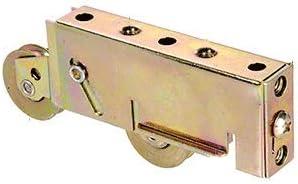 PACK OF 4 BRAND NEW Adjustable Sliding Door Tandem Rollers Steel Wheel