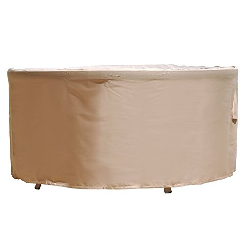 Veranda Side Table (Budge Chelsea Round Patio Table Cover, Extra Small)