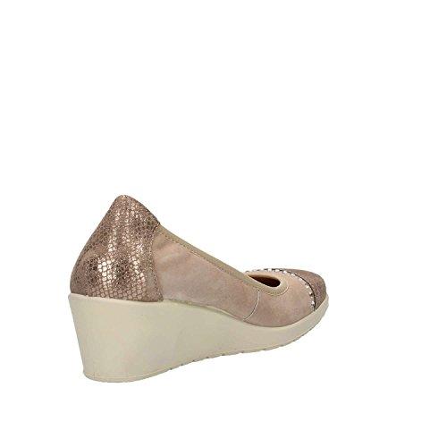 22 Ballerinas Soft Damen 12570 Enval Taupe 8fSwzEnFnq