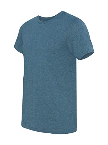 Bella+ Canvas Mens Short-Sleeve Crew T-Shirt, 2XL, Heather Deep ()