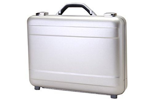 T.Z. Case International T.z Molded Aluminum Attache Case 18 X 13 X 4 in, Silver by T.Z. Case International