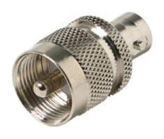 Amphenol Rf 31 28 Rf Coaxial Adapter  Bnc Jack Uhf Plug