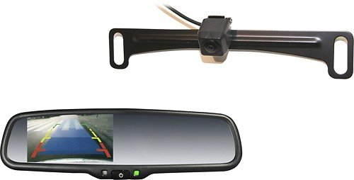 Echomaster rear view backup camera combo kit
