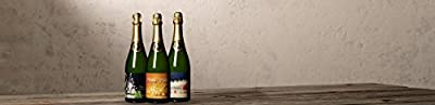Wilson Creek Almond Sparkling Wine Christmas Day Mixed Pack, 3 x 750 mL
