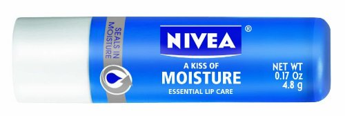Nivea a Kiss de Moisture Lip Care Essential, Sticks 0,17 onces (pack de 6)
