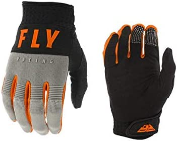 MXグラブ FLY 20 F-16 GRY/BK/OR モトクロス 正規輸入品 (XL)