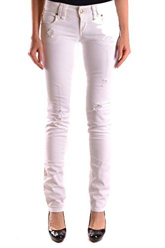 Galliano Jeans Cotone Donna Mcbi130062o Bianco 4q4xarwUX