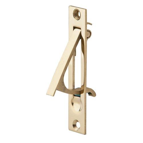 Ives by Schlage 230B3 Schlage Edge Dummy Door Lever, 3/4 in Dia X 3-7/8 in L X 1-5/8 in W, Solid, Brass