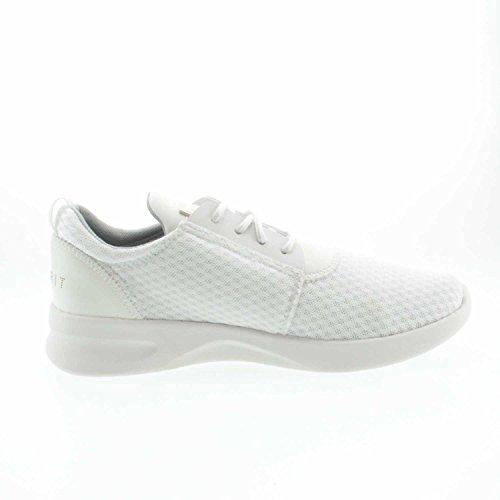 blanco E100 Zapatos Lona de cordones de mujer para ESPRIT 037ek1w030 zpvgqwgC
