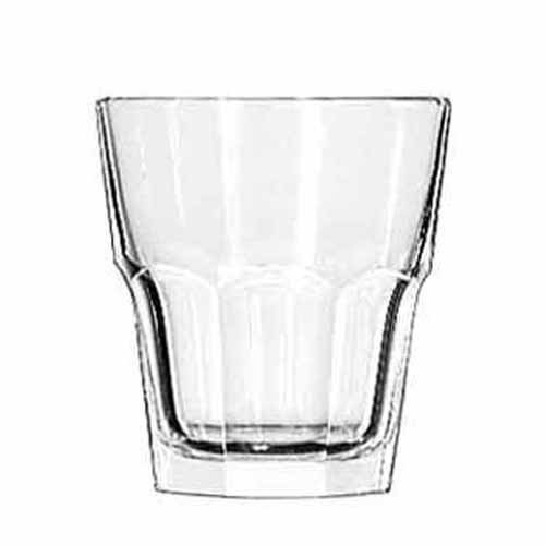 Gibraltar Rocks Glasses, 5 1/2 oz, Clear by Libbey