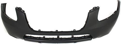 Front Bumper Cover Compatible with 2007-2009 Hyundai Santa Fe Primed with 2 Tone Color