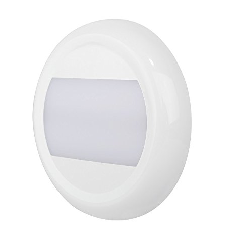 MARINE 5.2'' SUPER BRIGHT DOME LIGHT - 10 TO 30VDC - 24W - 1780 LUMENS - Home, Auto, Truck, RV, Boat and Aircraft by Pilotlights.net