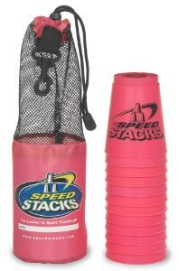 Set of 12 Speed Stacks_ Cups - Pink