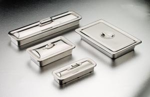 Tech-Med Services 4255 Tech-Med Instrument Tray, 8.875 x 5 x 2 In.