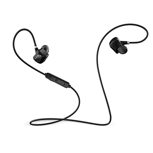 HAHAP Bluetooth Headphones,Wireless Earbuds, in-Ear Earpieces Headsets Stereo in-Ear Earpieces Lightweight Sweatproof Sports Gym