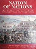 Nation of Nations Vol. 2 : A Narrative History of the American Republic, Davidson, James West and Gienapp, William E., 0070157995
