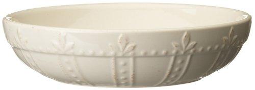 Solid Pasta Bowl - Signature Housewares Sorrento Individual Pasta Bowls, Ivory, Set of 4